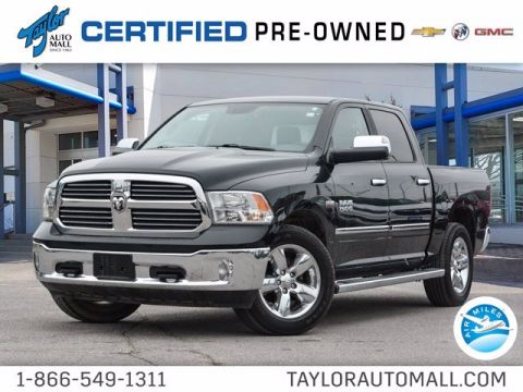 Pre-Owned 2017 Ram 1500 Big Horn 4WD Crew Cab Pickup