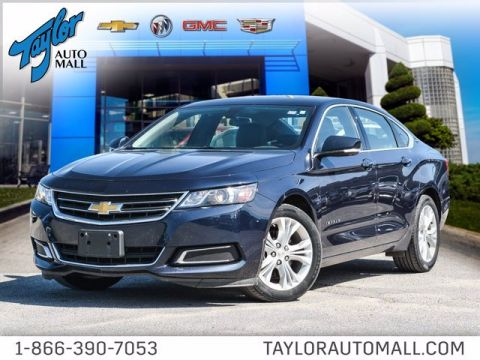 Certified Pre-Owned 2015 Chevrolet Impala LT FWD 4dr Car