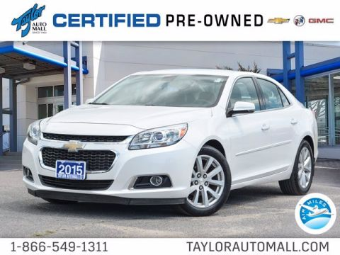 Certified Pre-Owned 2015 Chevrolet Malibu LT FWD 4dr Car