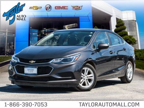 Certified Pre-Owned 2017 Chevrolet Cruze LT FWD 4dr Car