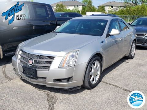 Certified Pre-Owned 2008 Cadillac CTS w/1SA RWD 4dr Car