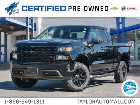 Certified Pre-Owned 2019 Chevrolet Silverado 1500 Custom Trail Boss 4WD Extended Cab Pickup
