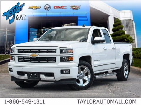 Certified Pre-Owned 2015 Chevrolet Silverado 1500 LTZ 4WD Extended Cab Pickup