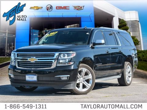 Certified Pre-Owned 2016 Chevrolet Suburban LTZ 4WD Sport Utility