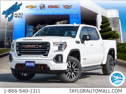 New 2020 GMC Sierra 1500 AT4 4WD Crew Cab Pickup